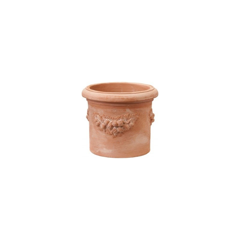 Vaso cilindro Festonato cm.68