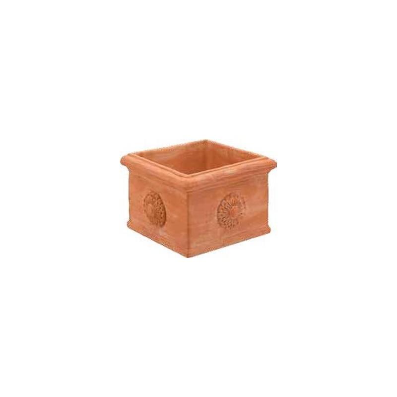Cubo Mignon liscio cm 18x18 H.12,5